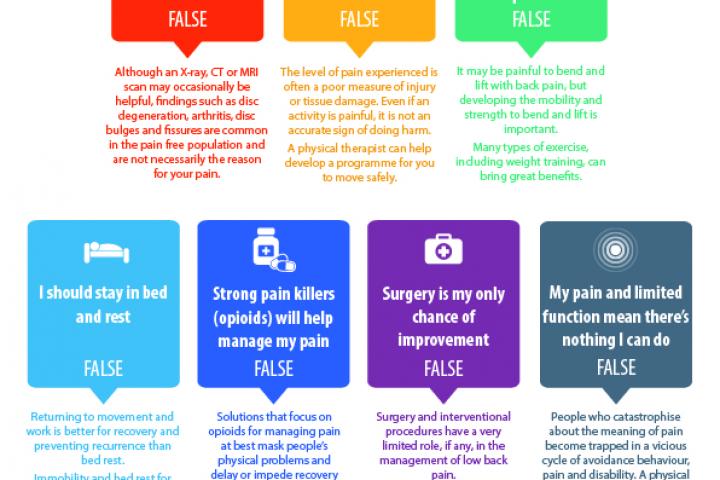Chronic Pain - The Myths